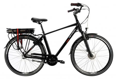 Bicicleta Electrica Devron 28123 M Negru Mat 28 Inch0