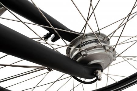 Bicicleta Electrica Devron 28125 Negru L 28 Inch4