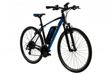 Bicicleta Electrica Devron 28161 Xl 520Mm Negru 28 Inch1