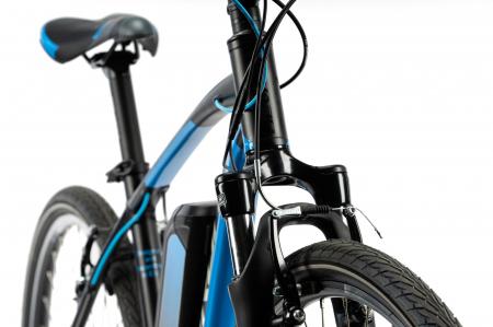 Bicicleta Electrica Devron 28161 Xl 520Mm Negru 28 Inch5