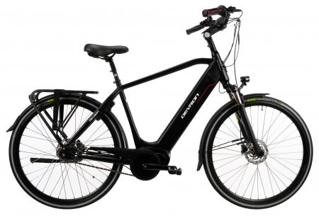 Bicicleta Electrica Devron 28427 Xl 530Mm Negru 28 Inch0