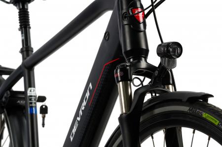 Bicicleta Electrica Devron 28427 Xl 530Mm Negru 28 Inch4