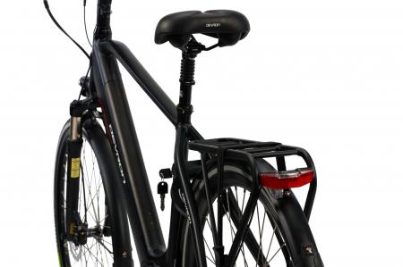 Bicicleta Electrica Devron 28427 Xl 530Mm Negru 28 Inch3