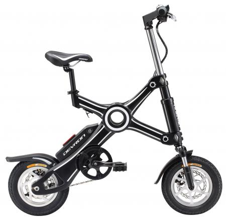 Bicicleta Electrica Devron Pliabila Folding X3 Negru 20 Inch1