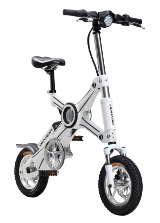 Bicicleta Electrica Devron Pliabila Folding X3 Negru 20 Inch2
