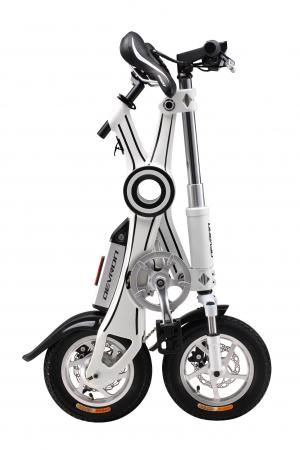 Bicicleta Electrica Devron Pliabila Folding X3 Negru 20 Inch4