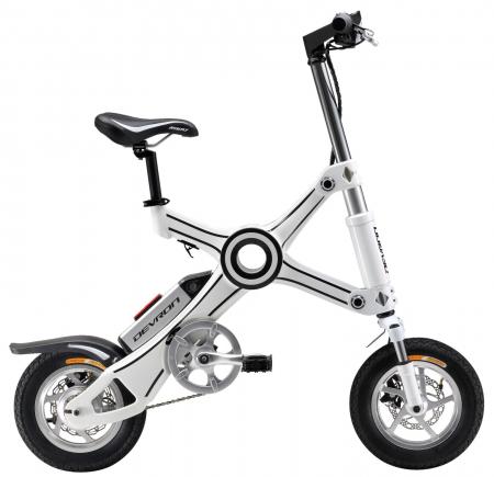 Bicicleta Electrica Devron Pliabila Folding X3 Negru 20 Inch0