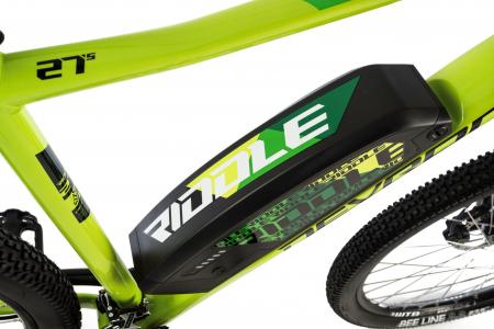 Bicicleta Electrica Devron Riddle M1.7 E-Bike M Neon 27.5 Inch4