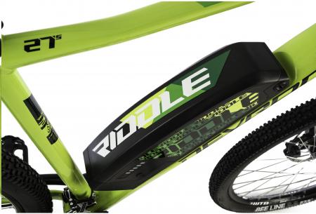 Bicicleta Electrica Devron Riddle Man E1.7 Xl 520Mm Gri Mat 27.5 Inch2