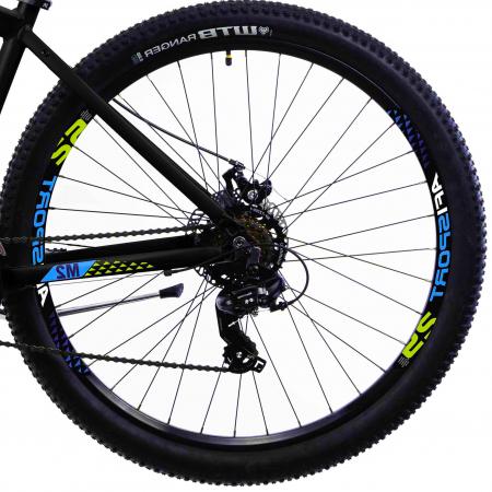 Bicicleta Mtb Afisport M2 - 29 inch, L , Argintiu [38]