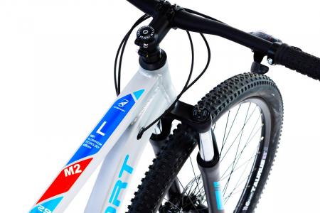 Bicicleta Mtb Afisport M2 - 29 inch, L , Argintiu [28]