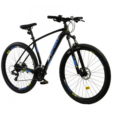Bicicleta Mtb Afisport M3 - 29 inch, 495 mm, Gri [17]