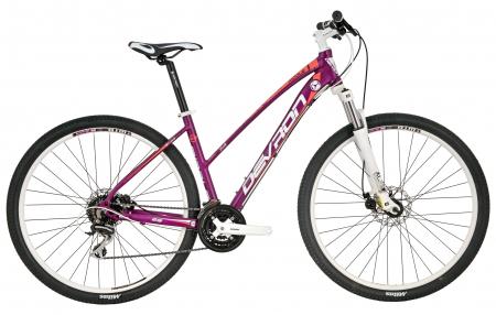 Bicicleta Mtb Devron Riddle Lady Lh1.9 M Nasty Violet 29 Inch0