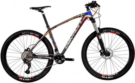 Bicicleta Mtb Devron Riddle R7.7 L 495Mm Race Black 27.5 Inch1