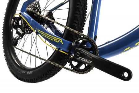 Bicicleta Mtb Devron Zerga 3.7 Xl 520Mm Galben Neon 27.5 Inch Plus6