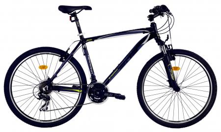 Bicicleta Mtb Dhs Terrana 2623 L Negru/Verde 26 Inch1