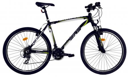 Bicicleta Mtb Dhs Terrana 2623 L Negru/Verde 26 Inch0