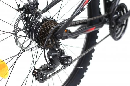 Bicicleta Mtb Dhs Terrana 2645 M Negru/Rosu 26 Inch9