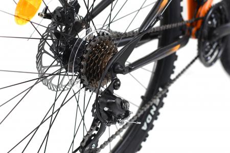 Bicicleta Mtb Dhs Terrana 2645 M Negru/Rosu 26 Inch2