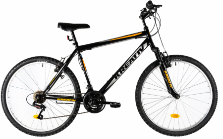 Bicicleta Mtb Kreativ 2603 M Negru 26 Inch0