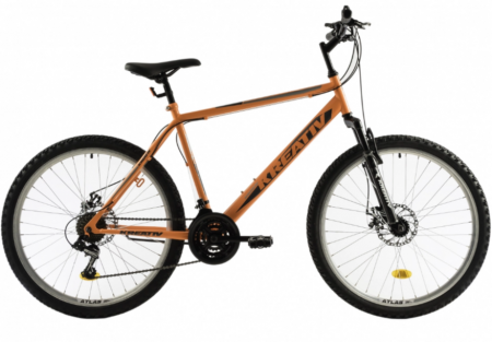 Bicicleta Mtb Kreativ 2605 M Portocaliu 26 Inch8