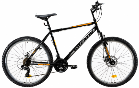 Bicicleta Mtb Kreativ 2605 M Portocaliu 26 Inch2