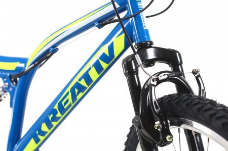 Bicicleta Mtb Kreativ 2641 M Negru/Rosu 26 Inch5