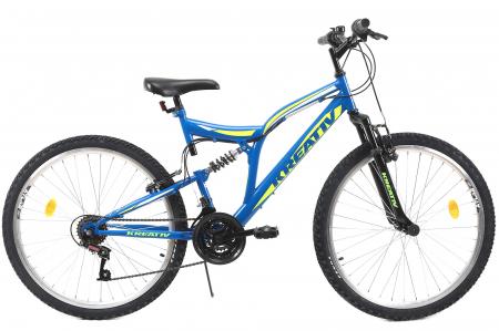 Bicicleta Mtb Kreativ 2641 M Negru/Rosu 26 Inch1