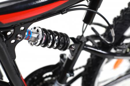 Bicicleta Mtb Kreativ 2641 M Negru/Rosu 26 Inch11