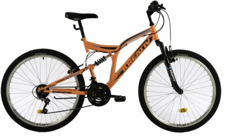 Bicicleta Mtb Kreativ 2641 M Portocaliu/Deschis 26 Inch0