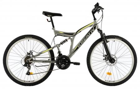 Bicicleta Mtb Kreativ 2643 M Gri 26 Inch0