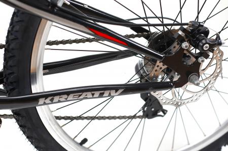 Bicicleta Mtb Kreativ 2643 M Negru/Rosu 26 Inch7