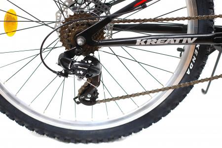 Bicicleta Mtb Kreativ 2643 M Negru/Rosu 26 Inch5