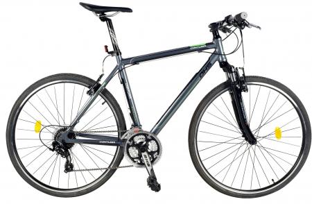 Bicicleta Oras Contura 2865 L 530Mm Gri/Rosu 28 Inch2
