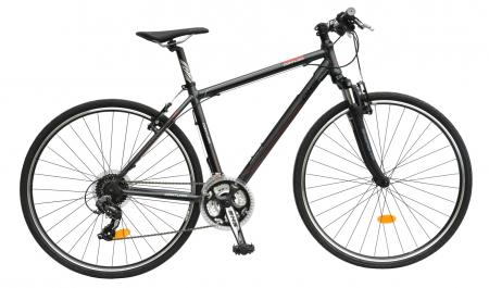 Bicicleta Oras Contura 2865 L 530Mm Gri/Rosu 28 Inch0