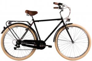 Bicicleta Oras Dhs Citadinne 2833 530Mm Negru 28 Inch0