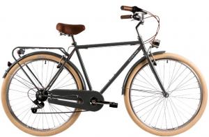 Bicicleta Oras Dhs Citadinne 2833 530Mm Negru 28 Inch1