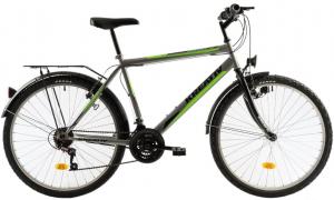 Bicicleta Oras Kreativ 2613 M Gri/Verde 26 Inch0