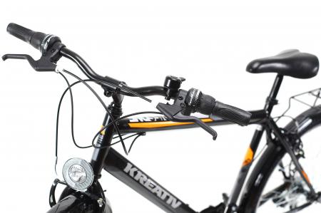 Bicicleta Oras Kreativ 2613 Negru M 26 Inch3
