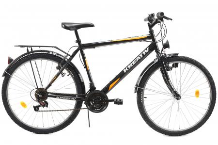 Bicicleta Oras Kreativ 2613 Negru M 26 Inch0