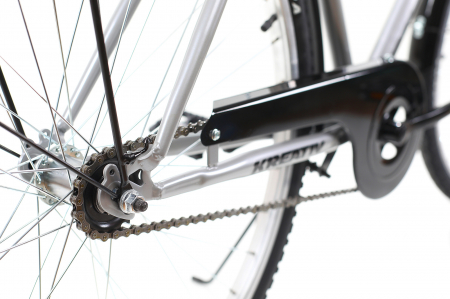 Bicicleta Oras Kreativ 2811 L Argintiu 28 Inch [3]