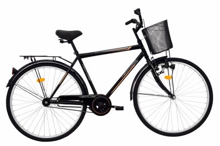 Bicicleta Oras Venture 2817 Negru 2016 L 28 Inch0