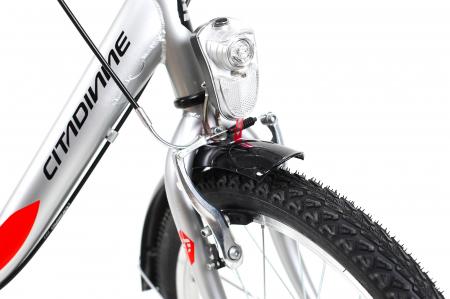 Bicicleta Pliabila Dhs 2092 Gri 20 Inch8