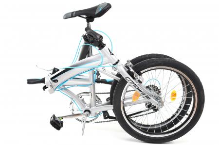 Bicicleta Pliabila Dhs 2095 Gri 20 Inch7