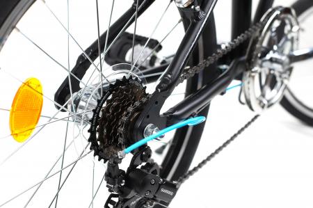 Bicicleta Pliabila Dhs 2095 Gri 20 Inch3