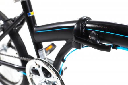Bicicleta Pliabila Dhs 2095 Gri 20 Inch6