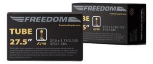 Camera bicicleta Freedom 27.5 x 1.75-2.125, valva Auto AV400