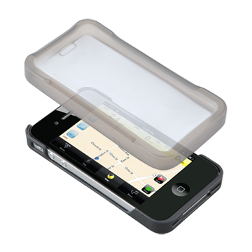 Carcasa Husa Topeak Ridecase Iphone 4, Carbon-Nylon, reglabila, neagra9