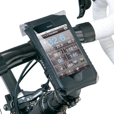 Carcasa Husa Topeak Ridecase Iphone 4, Carbon-Nylon, reglabila, neagra6