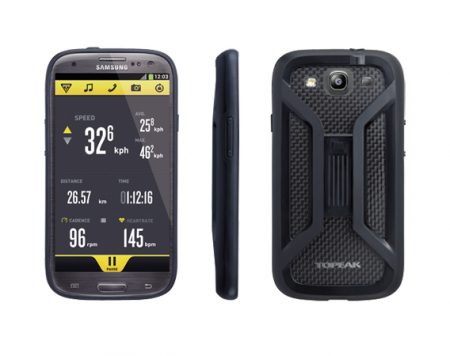 Carcasa Husa Topeak Ridecase Samsung Galaxy S3, reglabila, anti-shock, neagra [0]